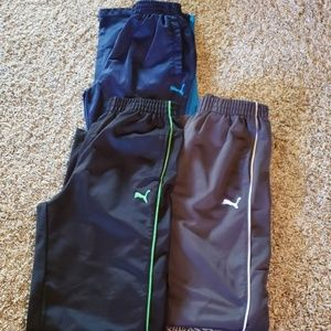 3 pair of Puma Track Pants